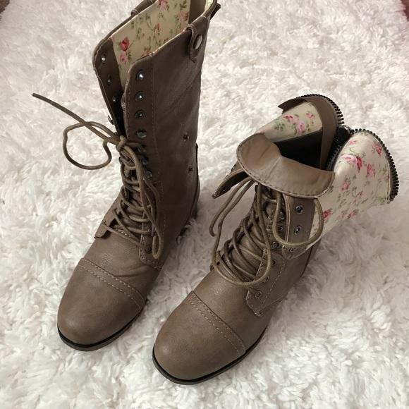 2af6ba9e5205d ⚡️SALE⚡ Charlotte Ryder Combat Boots
